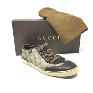 Gucci GG Monogram Shoes Sneakers Size 35.5/5.5
